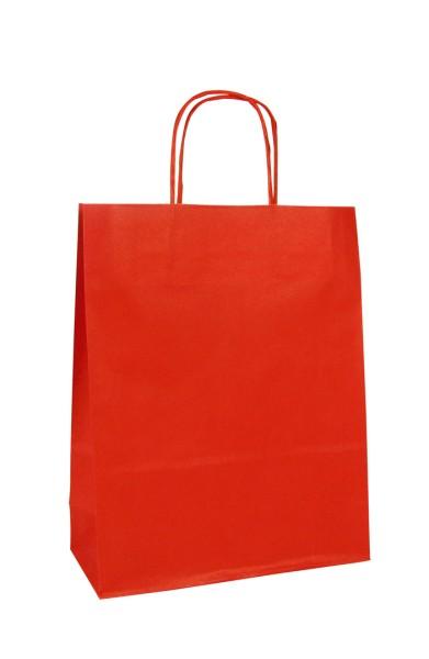 Geschenktaschen 18x7x24 rot 25St